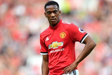 Manchester United : déçu, Martial dans l'expectative...