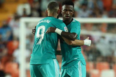 Real: Benzema - Vinicius, the winning duo strike again